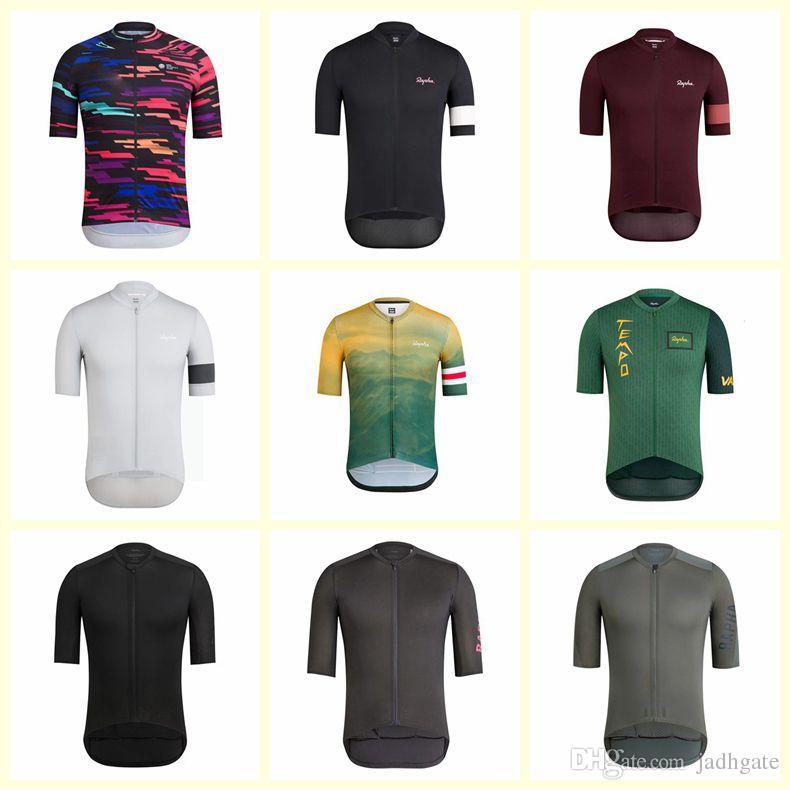RAPHA team Cycling maglia maniche lunghe Ciclismo Abbigliamento per Autunno Primavera Long Top Camicie MTB Abbigliamento D1018