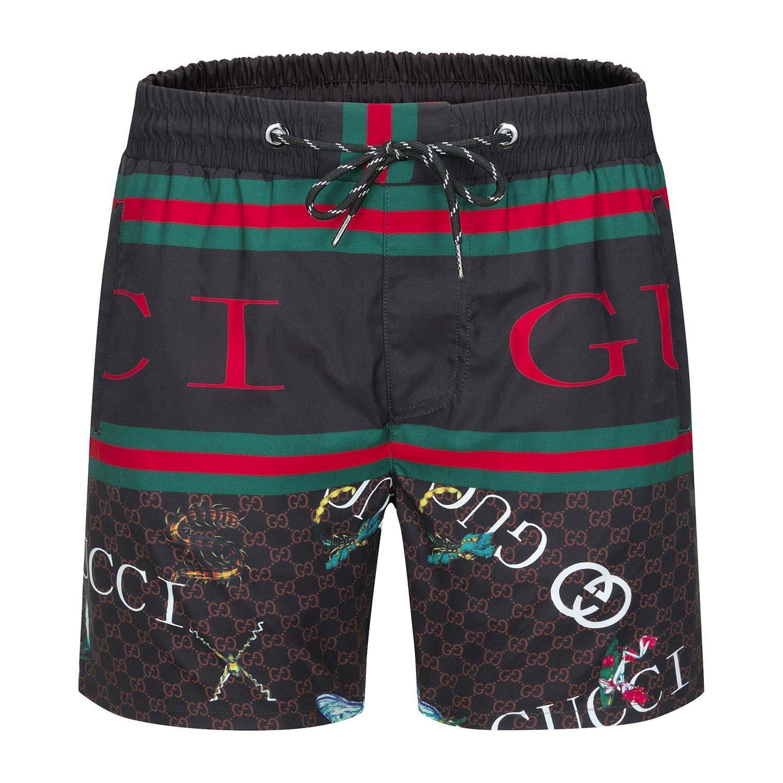 2020 NEW Summer Fashion Shorts New Designer Brett kurz, schnelltrocknende Badebekleidungs-Printing Brett-Strand-Hosen der Männer Herren Badeshorts