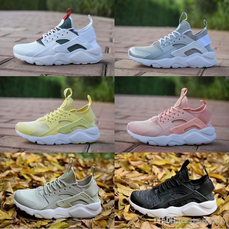 Diseño Huarache 4 IV Zapatos corrientes por Mujeres peso ligero, hombres Huaraches zapatillas de deporte de los zapatos atléticos al aire libre 36-45