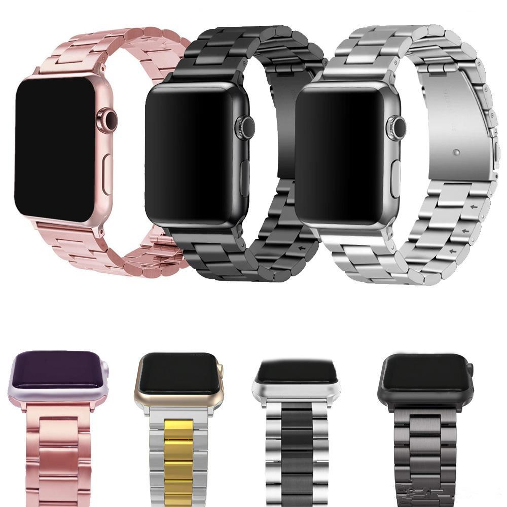 Stainless Steel Strap For Apple Watch Bracelet 38mm 42mm 40mm 44mm Watchbands Smart Watch Metal Band For iWatch Series 5 4 3 2 1