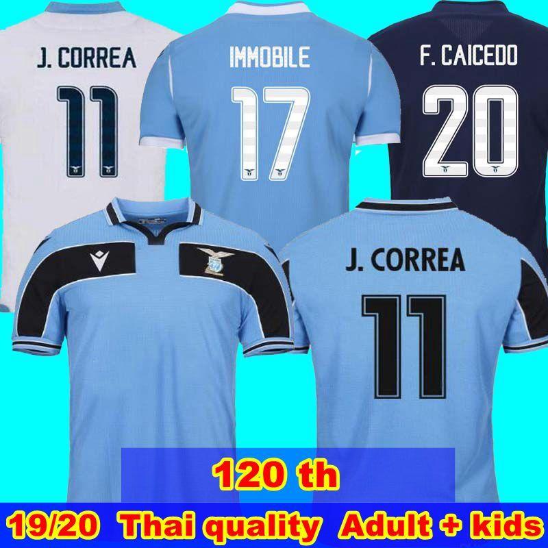 120 بالقميص لكرة القدم لاتسيو 10 لويس ألبرتو 11 خواكين كوريا 17 تشيرو إيموبيلي 21 سيرجي 33 ACERBI 77 قميص MARUSIC كرة القدم ال 19 لاتسيو 20