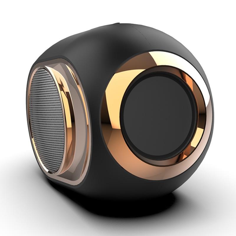 Outdoor Bluetooth Speaker Subwoofer sem fio TWS Bluetooth 5.0 dupla suporte ao canal kit mãos-livres 14,8 * 10,5 * 8.5 (cm)