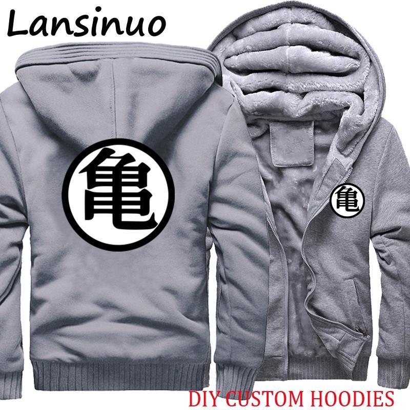 Großhandel Hip Hop Z DBZ Logo Goku Anime Herren Hoodies Sweatshirts Hoody Mäntel Herren Jacken Pullover 5XL Von Linglon, $51.72 Auf De.Dhgate.Com  