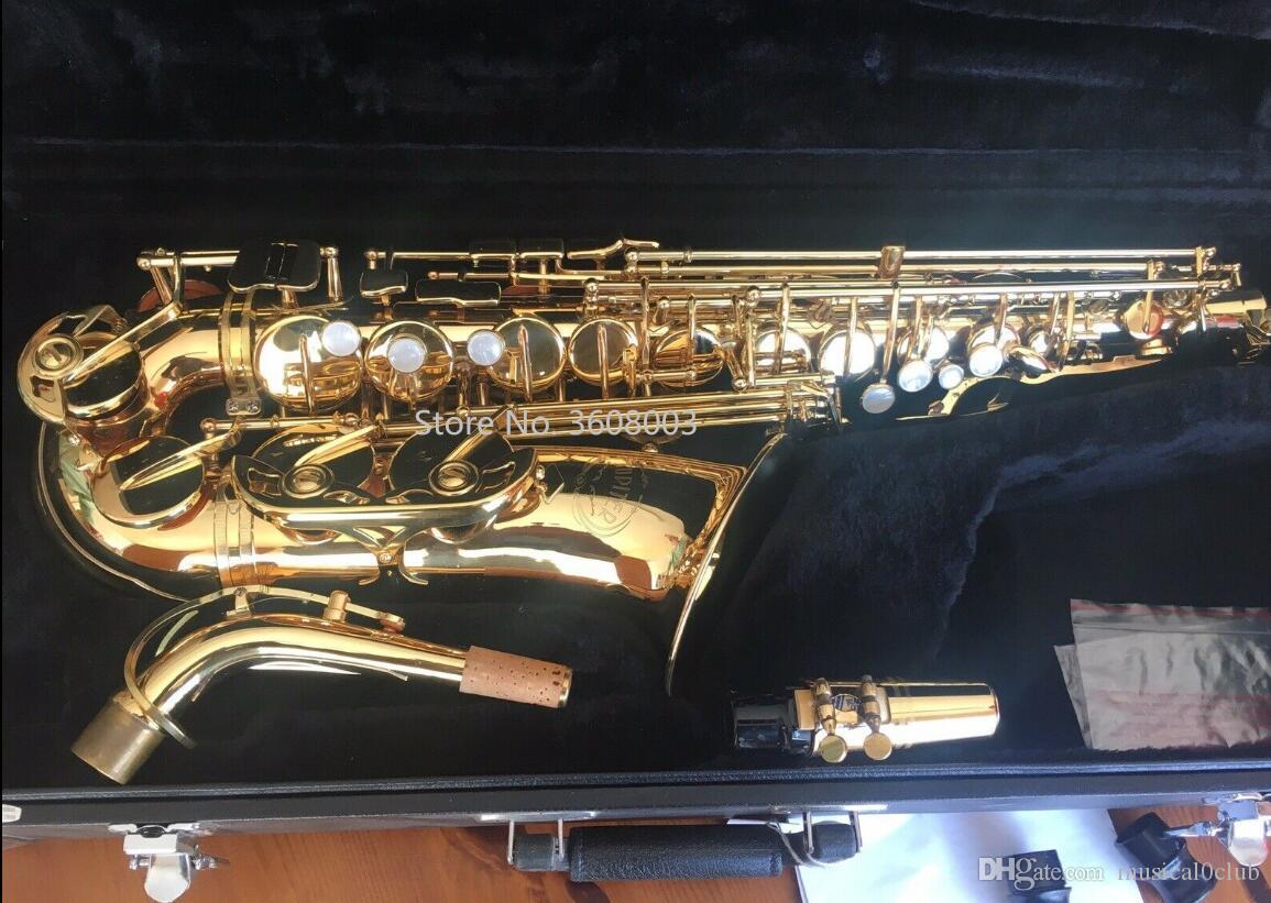 Marque Jupiter JAS récent 769 Alto Saxophone Eb E Flat Musical Instrument Brass VERNI Sax Avec et étui Accessoires
