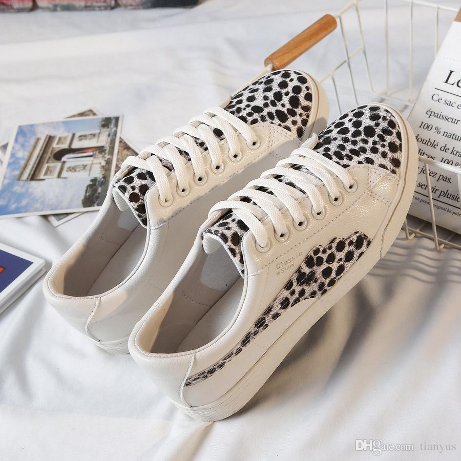 2019 Spring Women Casual Flats Shoes