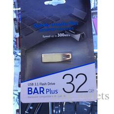 100% новый Bar Bar Plus Plus 32GB 64GB 128GB USB 2.0 USB флэш-накопители Pen Drive Metal Высокоскоростной USB флэш-накопитель 1 год гарантии 1 день отправка