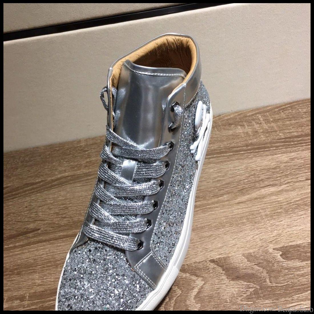 2019 hommes de chaussures de sport de voyage en plein air, le caoutchouc haute-top chaussures grandes chaussures plancher en cuir décontractée livraison rapide avec boîte d'origine