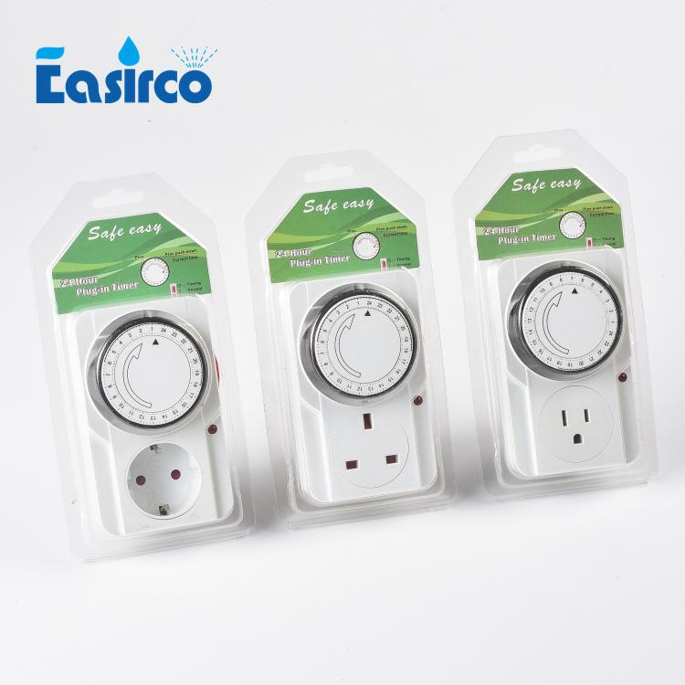 24 Hour Timer Switch Power ,Mechanical Electrical Program Energy Saver Time Clock Socket Mains UK Plug,Free shipping