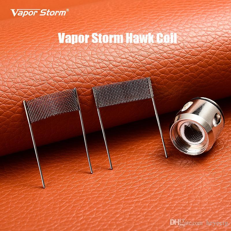 Vapor Storm Hawk Coils 0.2ohm Organic Cotton Durable Pure Taste Replacement Coils for Hawk Tank 3pcs/Pack E Cigarettes Coils