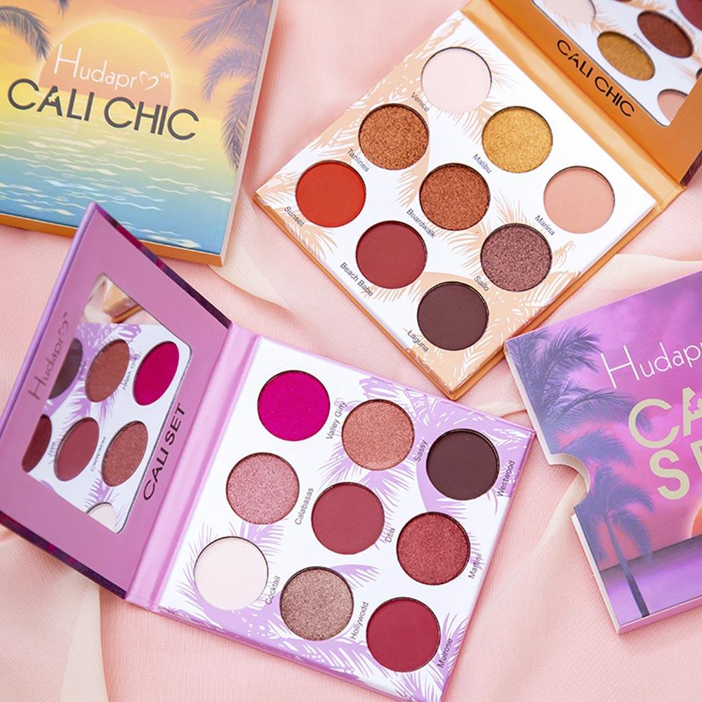 Eyeshadow Palette Beauty Galzed 9 Colors Shimmer Pigment Eyeshadow Palette Long lasting Matte Makeup Cosmetic Beauty Tool