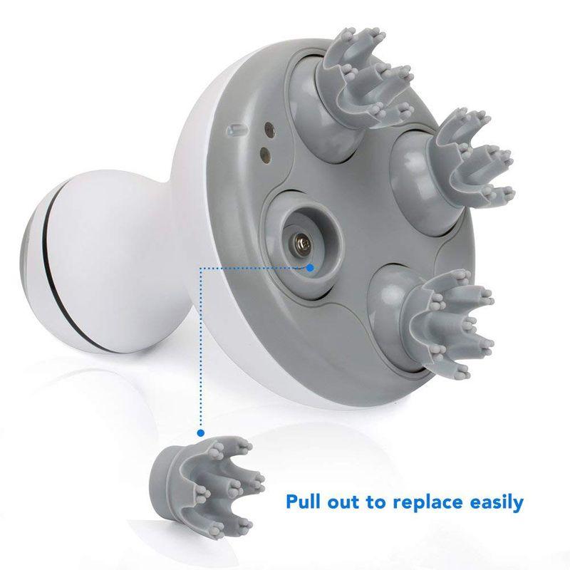 Acheter Multifonction Tete Electrique Masseur Du Cuir Chevelu