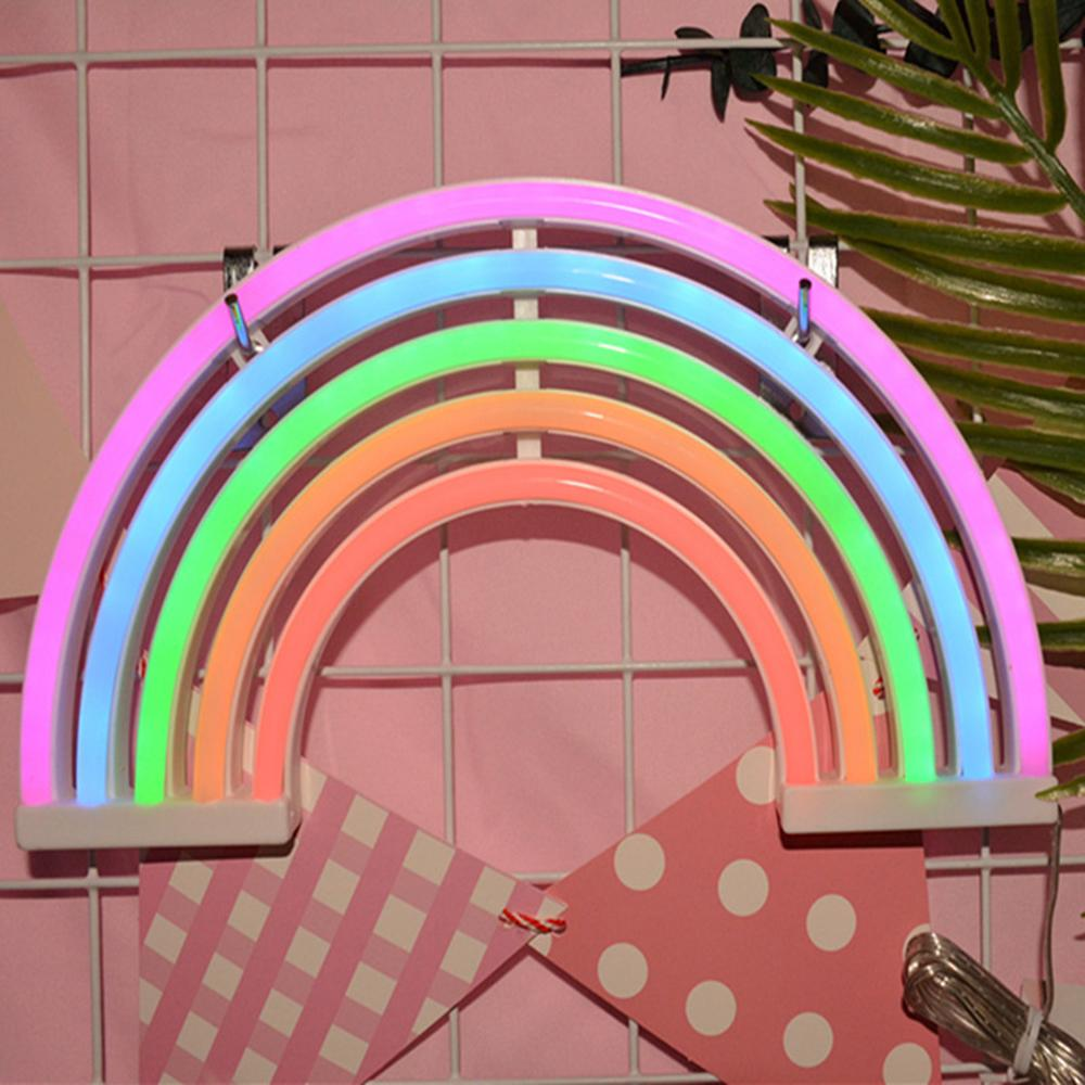 LED النيون الدافئة الابيض جدار الفن تسجيل الصورة نموذج مصباح غرفة نوم الديكور المنزلي ديكور حزب 5V USB / بطارية تعمل