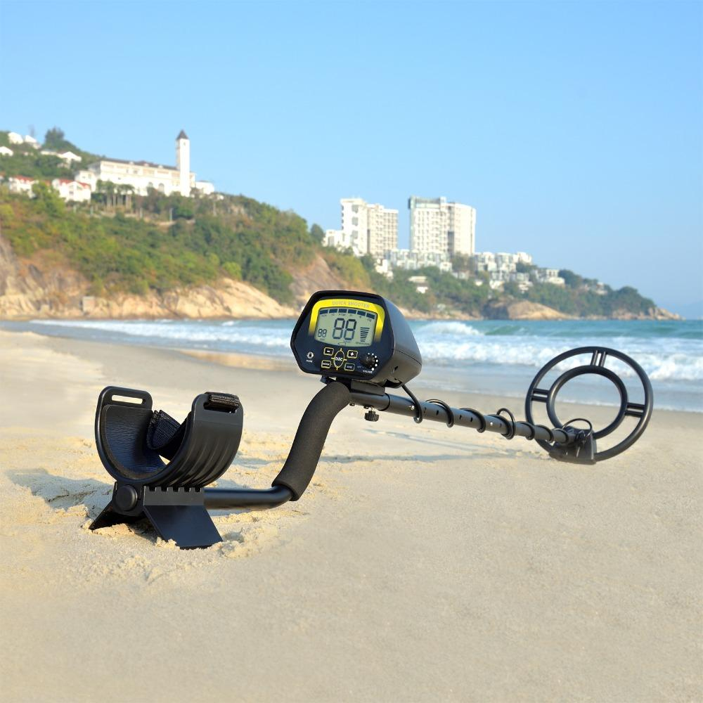 MD-3030 Portable Underground Metal Detector MD3030 Quick Shooter Gold Detector With large LCD screen Treasure Hunter Gold Coin Search Digger