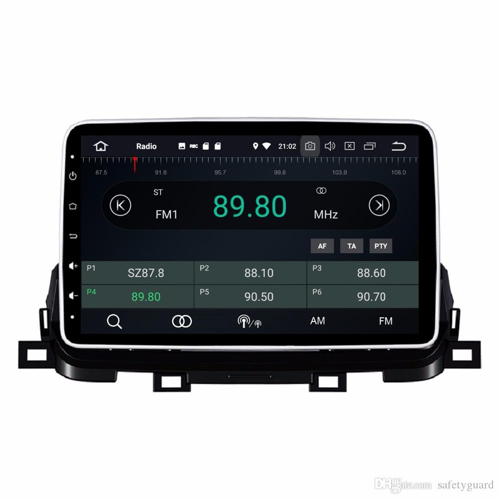 """4GB RAM 64GB ROM 8-Core PX5 HD 1 din 10.1"""" Android 8.0 Car dvd Player for Kia Sportage 2018 RDS Radio GPS Bluetooth WIFI USB AUX IN"""