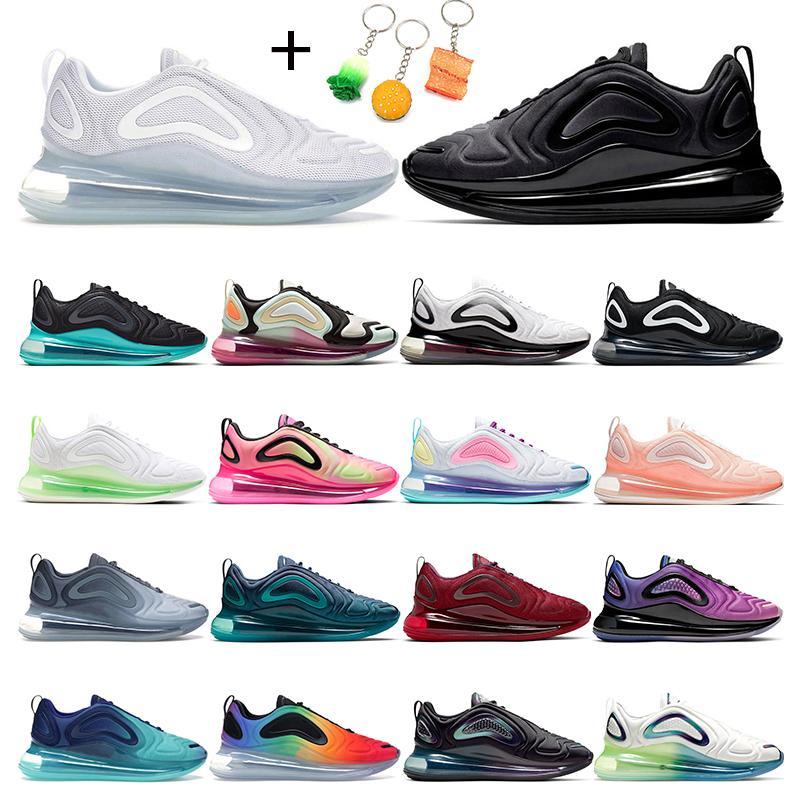 air max 720   Hotsale zapatillas de running para hombre Neon triple blanco negro atardecer DESERT GOLD NORTHERN LIGHTS DAY mujer zapatillas deportivas tamaño 36-45
