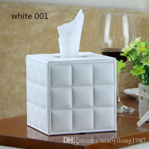Household products PU leather roll paper tube paper towel tube Living room roll paper storage tube removable tissue box