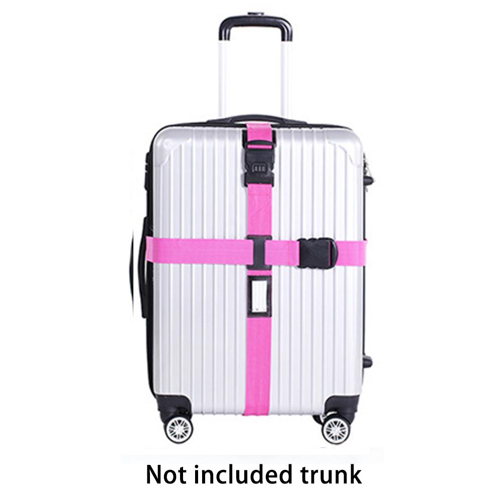 SKYHY224 Luggage Strap Cross Belt Packing Baggage Belts Packing Travel Suitcase Accessories