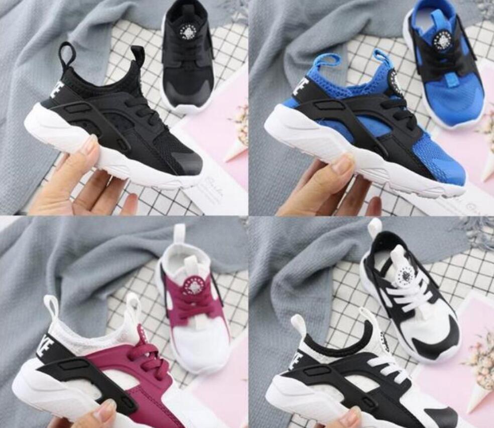 nuevos niños del diseñador Huarache 6/4 de los zapatos corrientes de triple niño Huraches Ultra niños niño zapatillas de deporte los deportes al aire libre Hurache