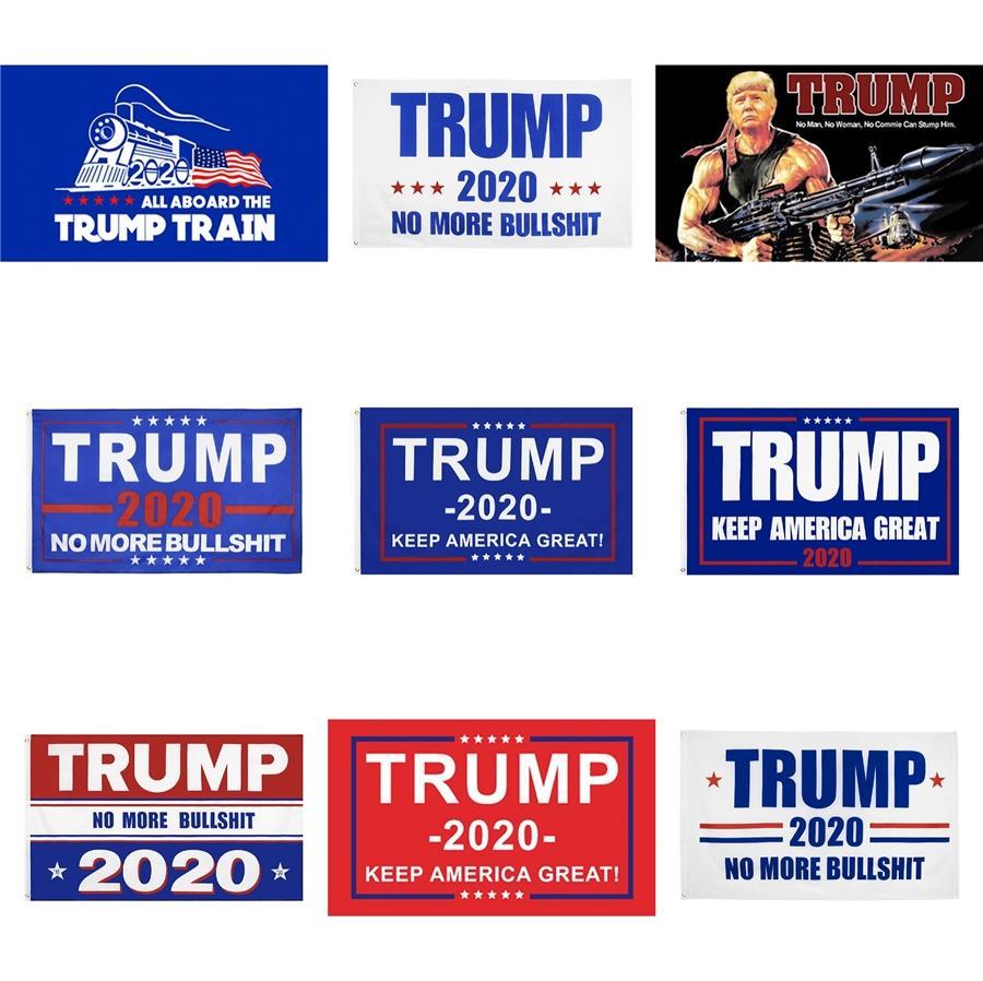 Trump Mantener Great American indicador de la bandera 3X5Ft para la decoración interior o fuera de la puerta de poliéster promoción, envío libre # 560