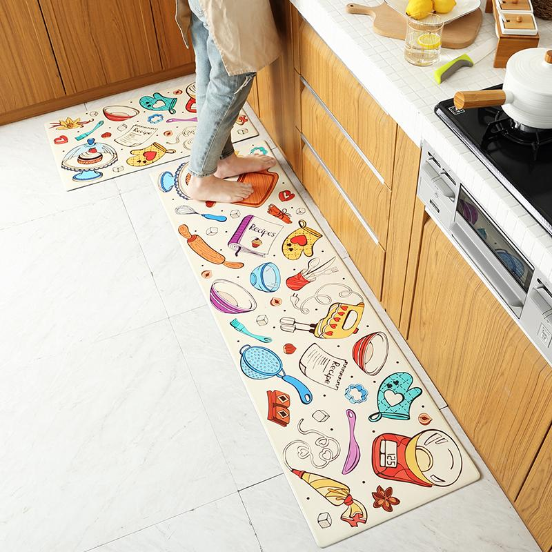 Multi Size Anti-Fatigue Mattress Kitchen Mat Waterproofing Comfortable Living Room Floor