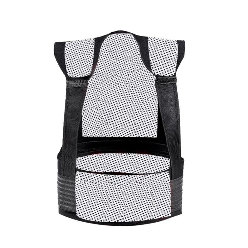Chaleco protector del hombro del cojín del calor Autocalentador posterior de la cintura caliente de correa de soporte terapia magnética chaleco gs SA