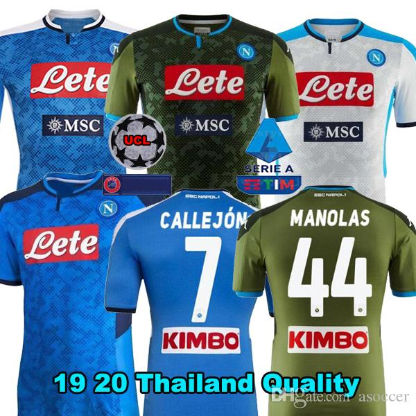 2020 2019 2020 Serie A Naples Napoli Home Away Soccer Jerseys Napoli Blue Football Jerseys Shirt 19 20 Lozano Hamsik Insigne Player Shirt From Asoccer 15 54 Dhgate Com