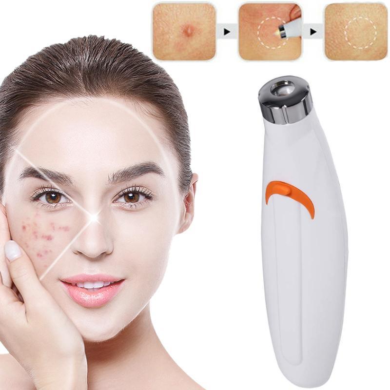 Cura della pelle Luce rossa Terapia Acne Laser Pen Soft Sar Rughe Blemish Spot Removal Treatment Device Facial Massage Beauty Machine