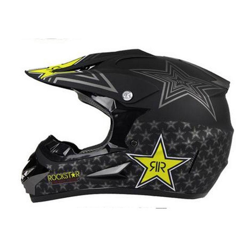 Nuevo casco de motocross fuera de la carretera ATV Cascos cruzados MTB DH Racing Casco de motocicleta Dirt Bike Capacete