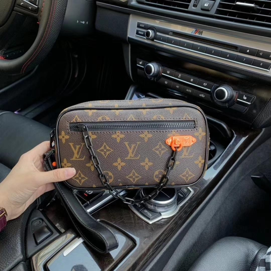 Body Bag NUOVA qualità eccellente Croce per donne degli uominiLVMessenger Bag Designer Satchel Shoulder Purse Leather Bag