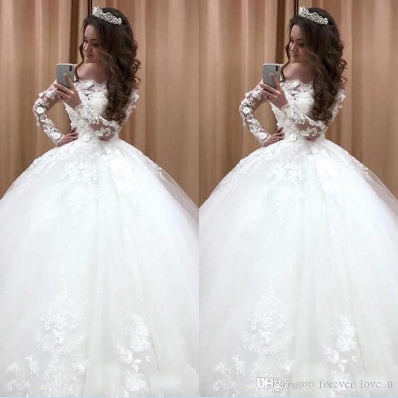 Vestiti Da Sposa Bellissimi.Acquista Abiti Da Sposa Bellissimi Abiti Da Sposa In Tulle Con