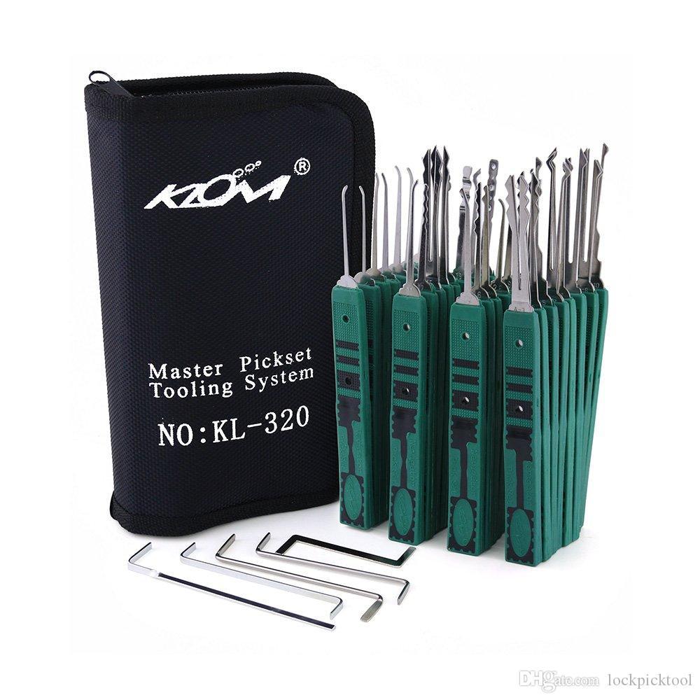 32pcs KLOM 잠금 도구 우수한 잠금 설정 자물쇠 도구를 골라 골라