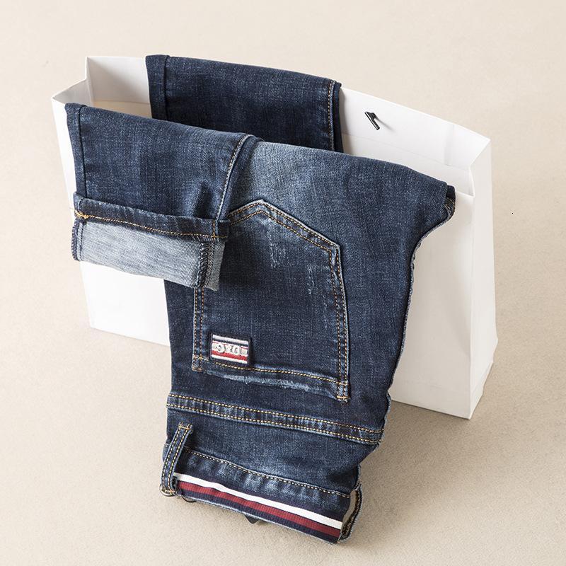 Indossare abbigliamento maschile Grande nuovi uomini di modo e originale Designe Jeans Uomo migliore qualità e ricami raffinati pantaloni Fd4450
