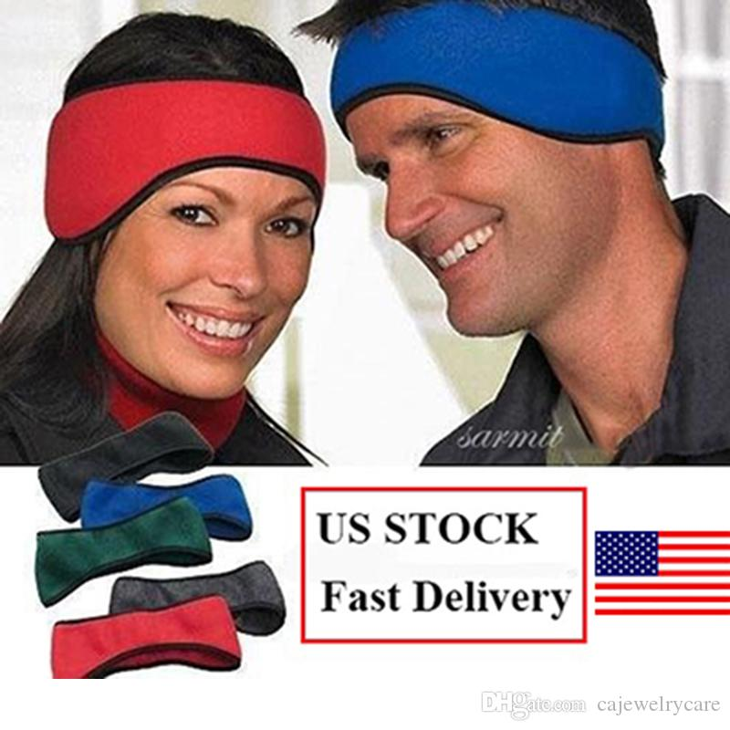 2pcs/pack Earmuffs Warm Fleece Winter Ear Warmers Headband Soft Ear Muffs for Women Men Adult Headphones Drop Ship