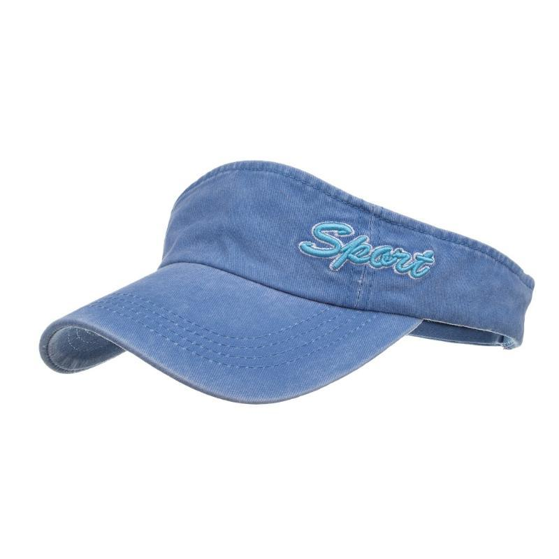 Womail Hat Sólidos Esporte cores Impresso respirável Esvaziar Top Fashion Neutral respirável Praia ajustável Hip Hop Baseball Chapéu de Sol