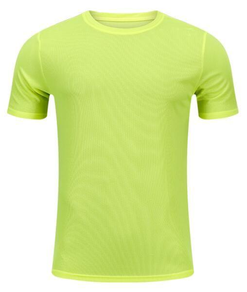 2019 мужская одежда плотно работает с короткими рукавами быстросохнущий футболку 1106