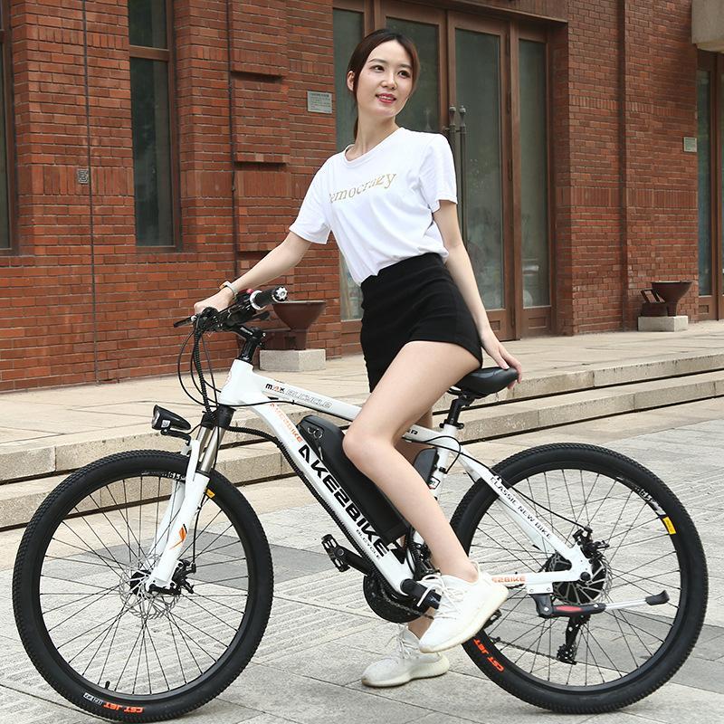 FONTE Fábrica 36v350w bateria de lítio de bicicleta liga de alumínio carro elétrico 27 velocidade Mountain Bike