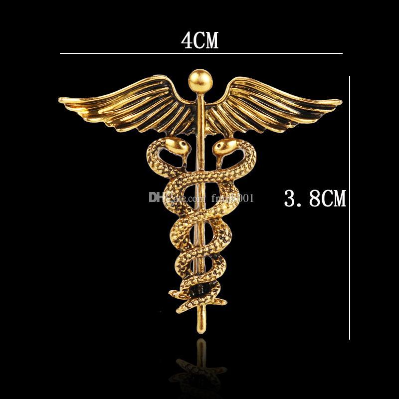 Gold Tone Metal Alloy Brooch Angel Wings Brooch Lapel Collar Pin Brooch Pins