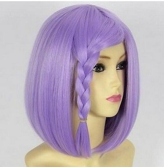 Super Dangan Ronpa 2 Sayonara Zetsubou Gakuen Chiaki Nanami Short Cosplay Wig