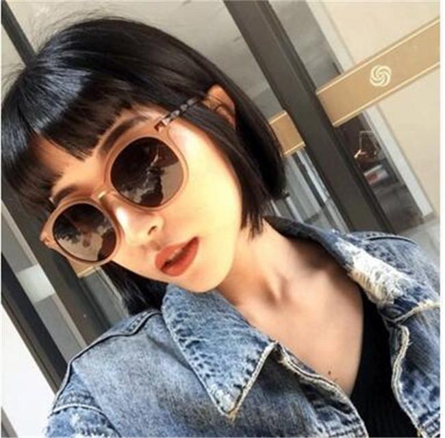 luxo- Sunglasses g15 plana lente de vidro vidros de sol shades óculos UV400 homens mulheres óculos de sol com todos os pacotes originais, acessórios