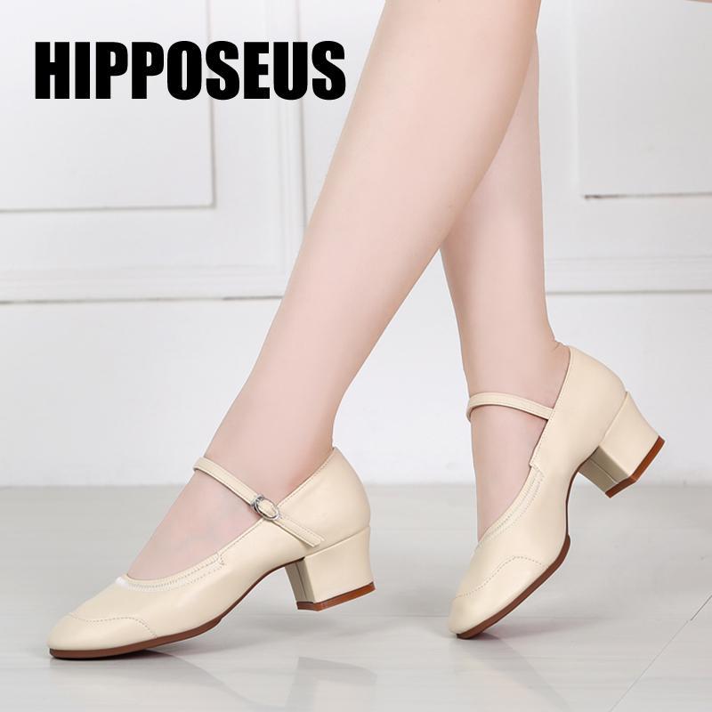 Modern Dans Profesyonel Balo Tango, Latin Salsa Ayakkabı Kadınlar / Kızlar / Bayanlar için 5.5cm / 3.5 hakkında Kare Topuklar Kapalı Açık