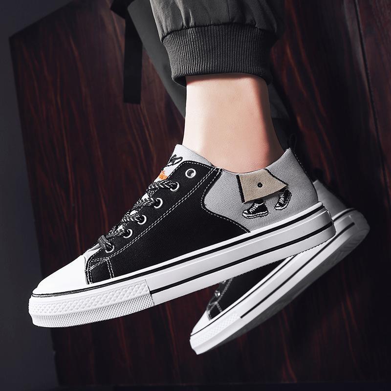 أحذية قماش للطلبة، الرجال النساء احذية عادية لليوث ديلي اللباس المطاط لينة وحيد حذاء أوقات الفراغ أنيقة