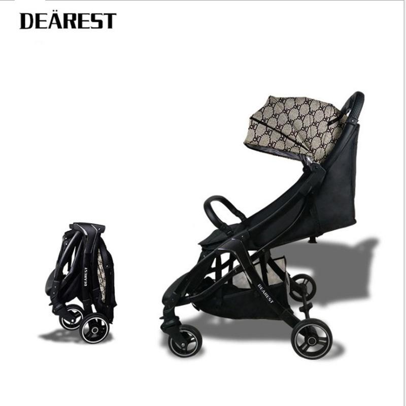 أعز مصغرة عربة طفل umberlla خفيفة الوزن قابلة للطي عربة محمولة على العجلات الأربع عربة مظلة عربة شحن مجاني