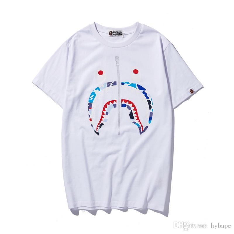 여름 연인 편지 인쇄 코튼 티셔츠 십대 대형 캐주얼 라운드 넥 반팔 인격 티셔츠