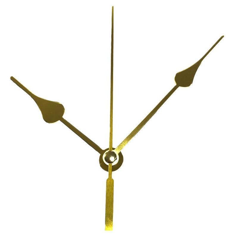 DIY Accesorios cuarzo Reloj Relojes Inicio husillo Movimiento Kit de reparación Mecanismo con la mano Establece Accesorios para ejes 50pcs IIA94