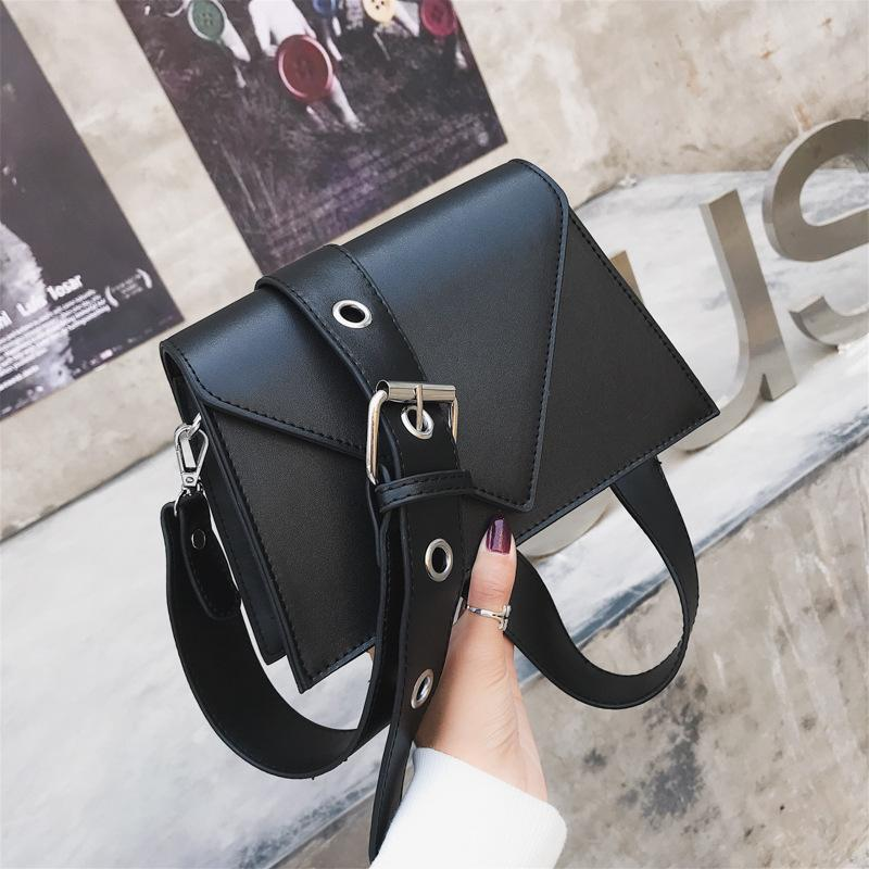 Vintage Small Flap Designer Wide Belts Women Shoulder Bags Luxury Pu Leather Crossbody Messenger Bag Chic Female Purses 2020 Sac