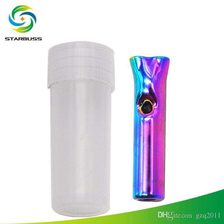 Sostenedor de cigarrillo de cristal miniatura de cristal