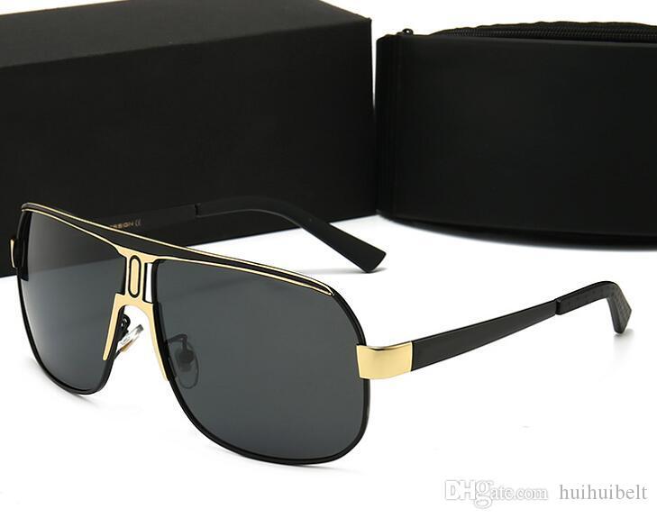 2020 neue marke sonnenbrille box 4 sonnenbrille glas für herren hohe gläser uv400 mit luxus 8864 qualität adumbral designer p farben design fhwi