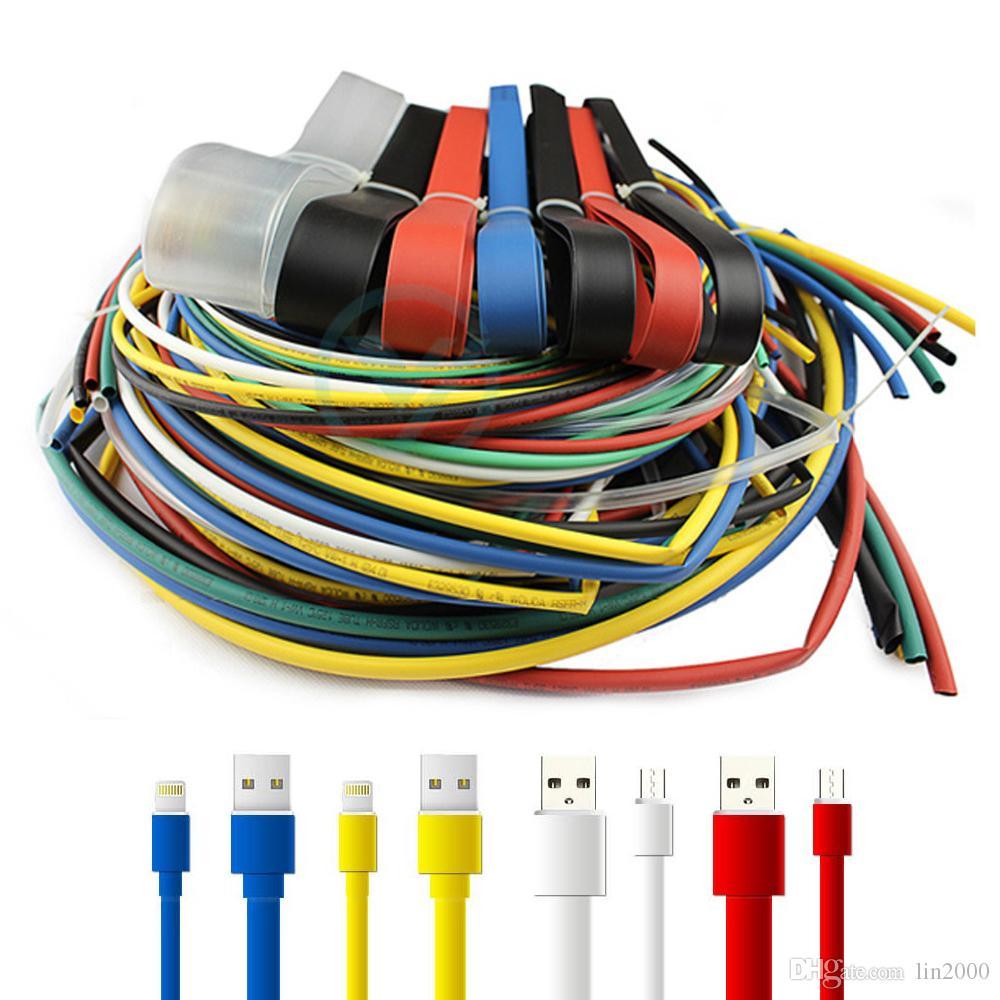 Daralan Yalıtım Kablo Kollu Elektrik Tel İzolasyon Boru Isı Tüpler Ürün Çeşitliliği Set Küçült
