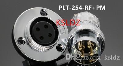 Freies Verschiffenlos (1 Stücke / Los) ursprüngliches neues PLT APEX PLT-254-RF + PM PLT-254-RF-R PLT-254-PM-R 4PINS Luftfahrt-Stecker und Einfaßung schließen an