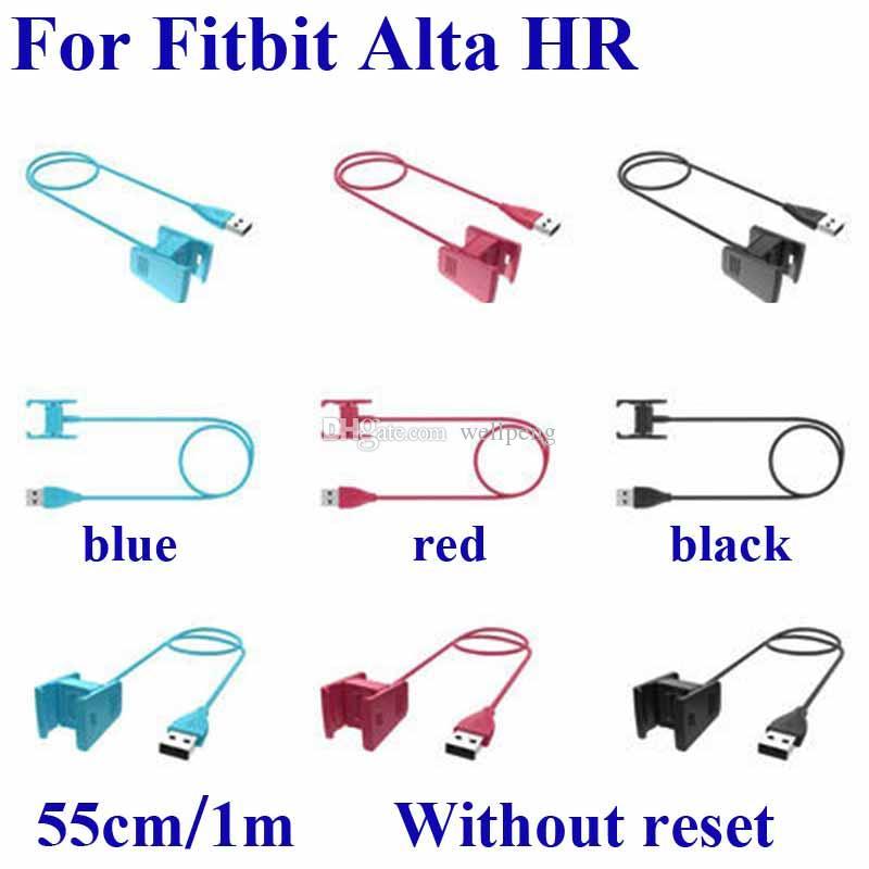 Для Fitbit Alta HR зарядная док-станция смарт-часы замена USB зарядный зажим без функции сброса зарядное устройство кабель шнур линии высокое качество